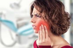Боль в щеке при саркоме челюсти