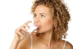 Употребление воды за полчаса до еды