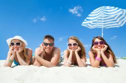 Злоупотребление солнечными ваннами - одна из причин базалиомы