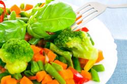 Овощные блюда на пару при онкологии