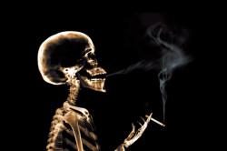 Курение - причина рака горла