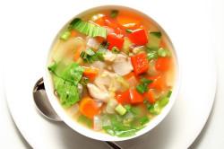Овощной суп для профилактики рака