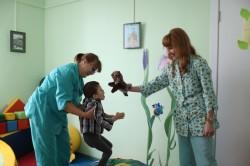 Общение родителей с больными детьми