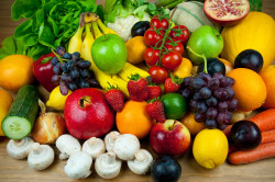 Фрукты и овощи при малокровии