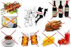 Противопоказанные продукты при онкологии